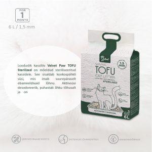 Kraikas katėms Tofu