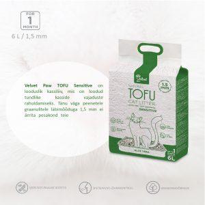 Kačių kraikas Tofu