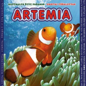 Artemijos 100g šaldytas pašaras žuvims